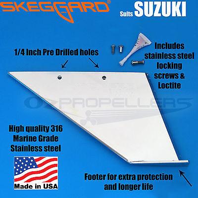 SKEGGARD ***USA Made*** YAMAHA Outboard SKEG GUARD 20-25-30HP  SKEG PROTECTOR