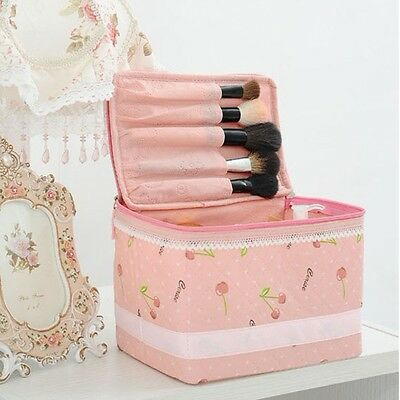 New 1pc Large Handbag Cosmetic Makeup Jewelry Bag Container Travel Toiletry Case