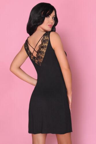 LIVCO CORSETTI Zorda Luxury Decorative Super Soft Robe and Matching Chemise Set