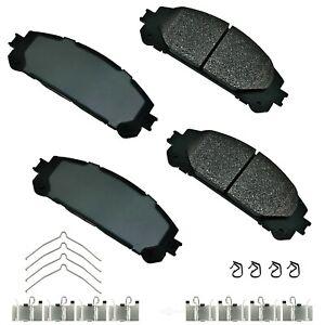Disc-Brake-Pad-Set-ProACT-Ultra-Premium-Ceramic-Pads-Front-Akebono-ACT1324A