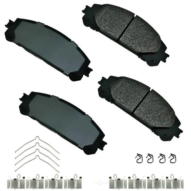 Disc Brake Pad Set-ProACT Ultra Premium Ceramic Pads Front Akebono ACT1324A