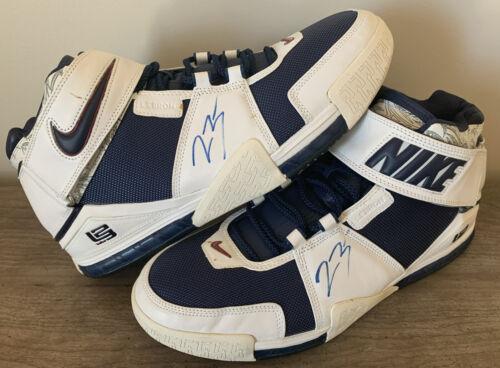 Nike LeBron 2 Size 15 READ DESCRIPTION Autograph