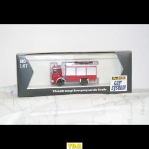Faller Car System h0 1:87 Man bomberos modellbau camiones auto Fire ferrocarril