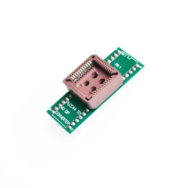 1PCS PLCC44 to DIP40 EZ Programmer Adapter Socket Universal Converter