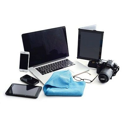 New Microfiber Chemical & Scratch Free Cleaning Cloth  Set of 3 Phone Tablet Car