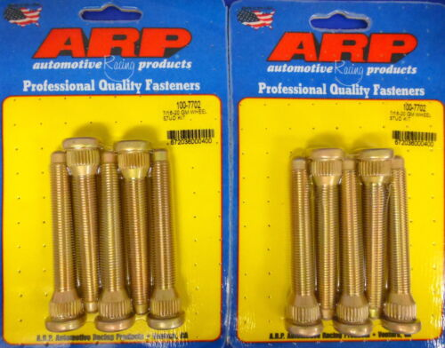 ARP 100-7702 Wheel Studs Late GM Disc Brake Early Drum  7//16-20 Set of 10 pcs