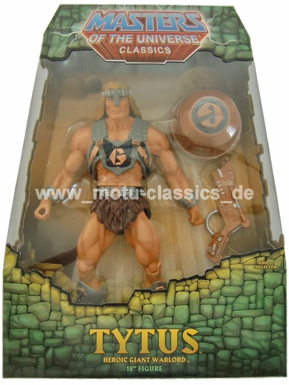 Auspacker Tytus 2010 1. Edición Masters Of The Universe Classics He Man Nuevo
