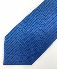 New Fairfax for Barneys Stripe Herringbone Silk Neck Tie Blue MSRP $145 ~ Japan