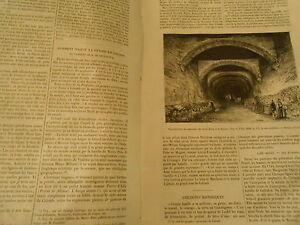 Comment Naquit La Pensée De Colomb Monastère Santa Maria Gravure Print 1871