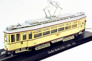1-87-Atlas-Grober-Hecht-C-amp-ULHB-1931-Tram