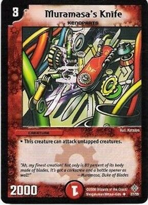 Duel Master Cloned Spike-Horn,Thrash of the Hybrid Megacreatures