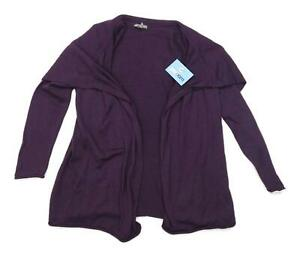 Gap-Womens-Size-S-M-Wool-Purple-Cardigan-Regular