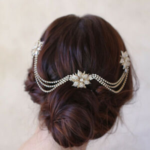 Brides-Gold-Flower-Hairbands-Bridal-Hair-Combs-Wedding-Hair-Accessories