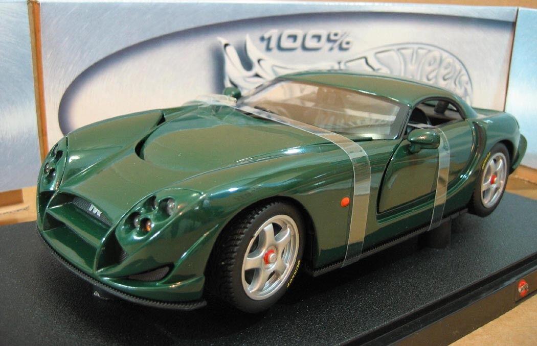 Tvr Speed 12 verde Oscuro Oscuro Oscuro coche 100% Hot Wheels Die Cast 1 18 Escala  Nueva Menta en caja 8daad1