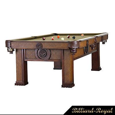 9 ft. Profi Pool Billardtisch Billiardtisch Billard Modell Orient Billard-Royal
