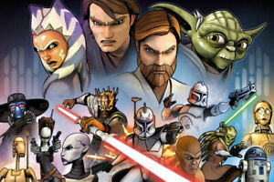 Star-Wars-Clone-Wars-Characters-POSTER-61x91cm-NEW