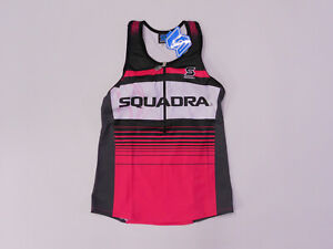 c34d42a231beaf Image is loading Womens-Small-Triathlon-Top-by-Squadra-BRAND-NEW-