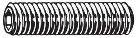 FABORY M51240.040.0008 Set Screw,M4 x 0.70mm,8mm L,PK100