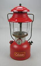 Vintage 1955 Coleman 200A Lantern & Original Sunshine of the Night Pyrex Globe