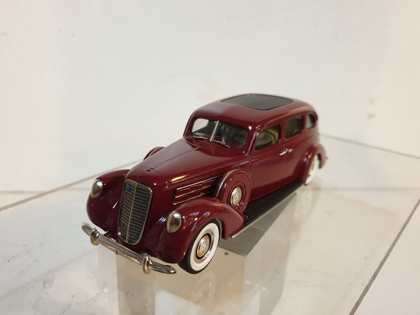 Brooklin Brk 141a 1937 Lincoln Model K 7 Passenger Sedan Maroon NB Boite 1 43