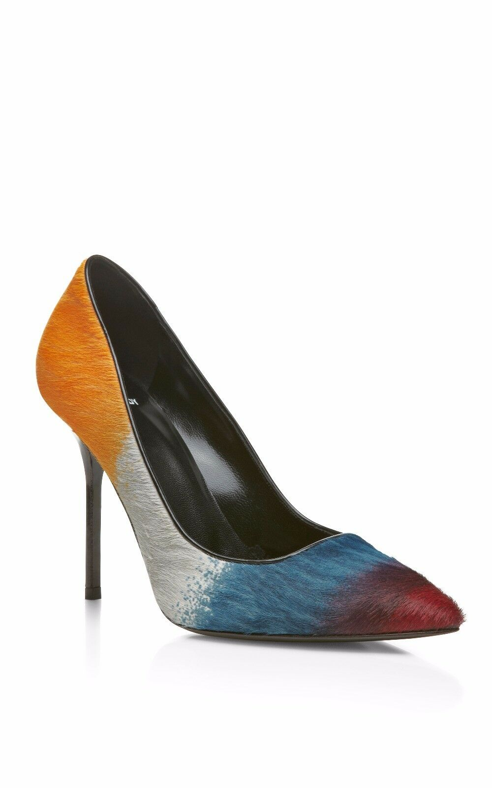 Pierre Hardy Multi Coloreeosso Hairy Calf e Shiny Calf Pump   si affrettò a vedere