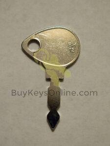 438 key (AKA BH12 BH12-SI key) for tractors, Skytrak, pumps, heavy equipment NEW