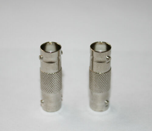 20 BNC female coupler coax cable connector adapters