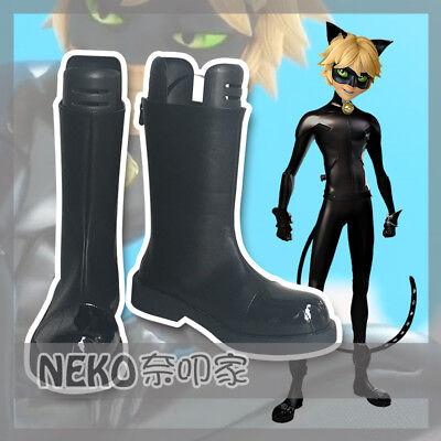 Miraculous Ladybug Cat Noir Cosplay Shoes Women Boots