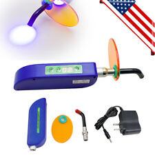 Dentist Dental Led Curing Light Lamp Wireless Cordless Resin Cure 10w 2000mw Fda