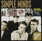 5 Album Set Simple Minds 2012 CD