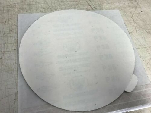"""Sandpaper 25 PIECES Auto Body Repair Stick Back SANDING DISC 8/"""" 36 grit PSA"""