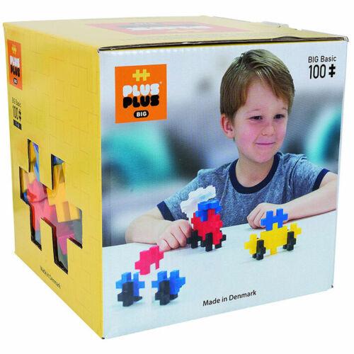 100 blocs de construction Plus-plus Big Basic