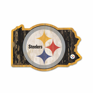 Pittsburgh-Steelers-Holzschild-NFL-Football-Bundesstaat-Pennsylvania