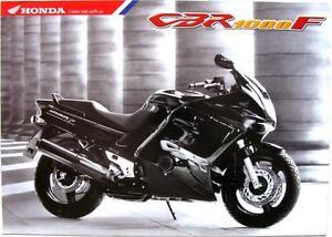 HONDA CBR 1000 F - Motorcycle Sales Brochure - Oct 1998 - #6P-10.98-E-CB<wbr/>R1000F