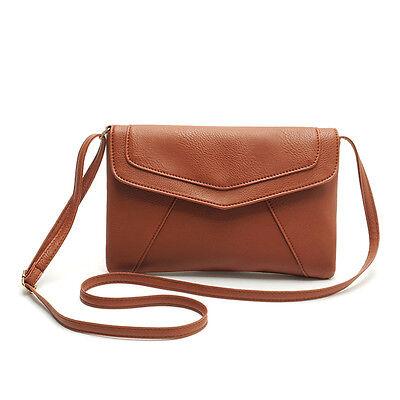 New Fashion Womens PU Leather Crossbody Satchel Shoulder Handbag Messenger Bag
