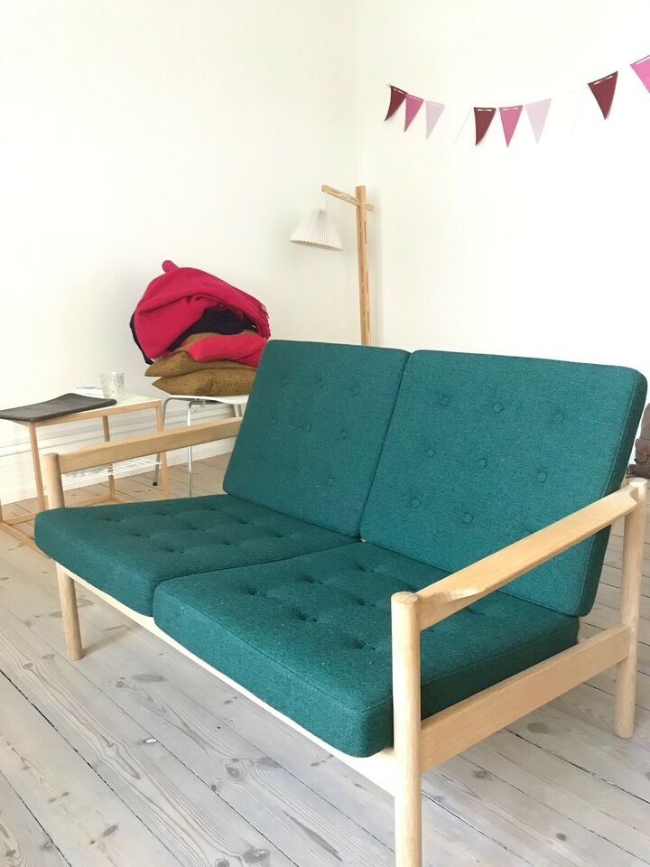 Sofa, uld, 2 pers.