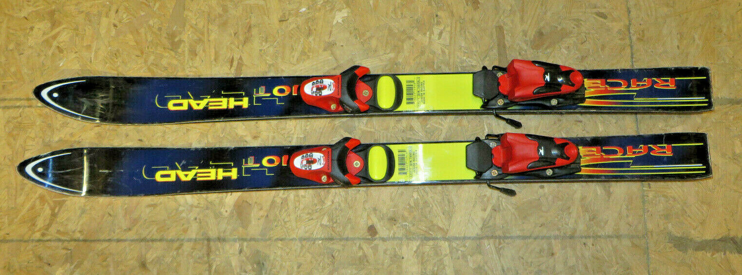 Head Hot 7890 100cm Junior Skis With Rossignol Comp Bindings Made in Austria