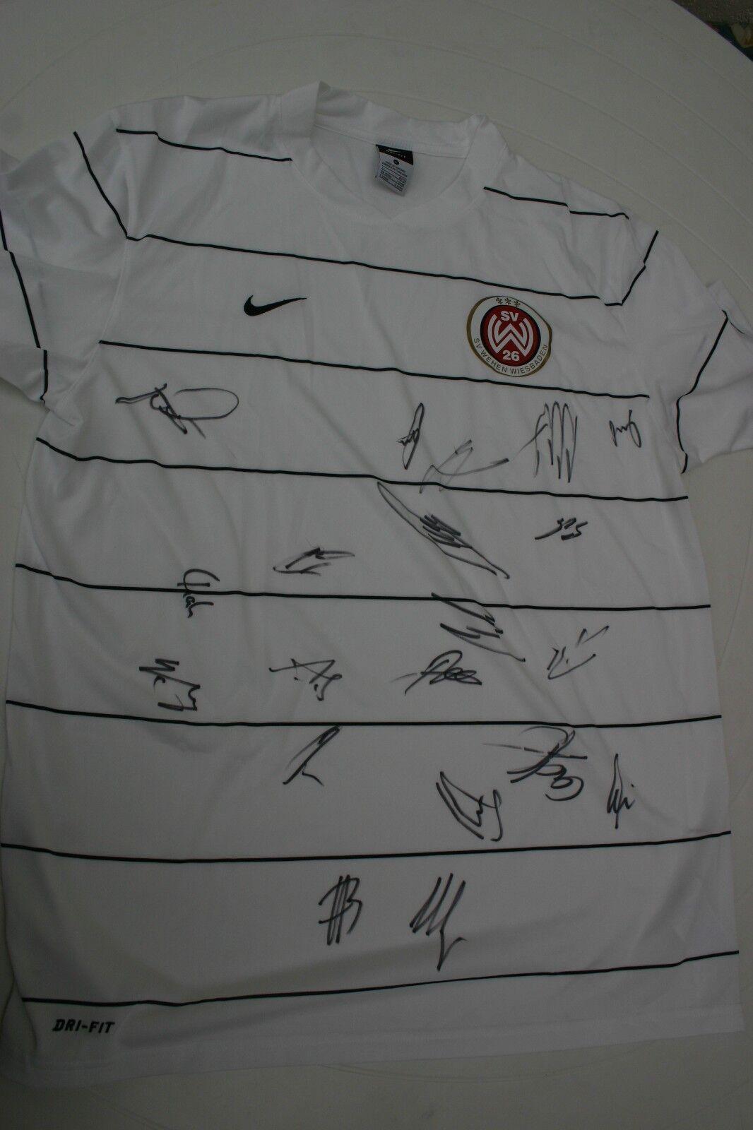 Unikat Trikot  SV Wehen Wiesbaden 2011 Größe L signiert A Nationalmannschaft neu