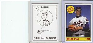Rare Shanks #7 Nolan Ryan Reprint Card MINT (A-67)