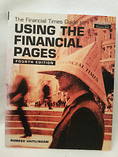 """""""FINANCIAL TIMES"""" Guide to Using the Financial Pages 4th Vaitilingam NEW BARGAIN"""