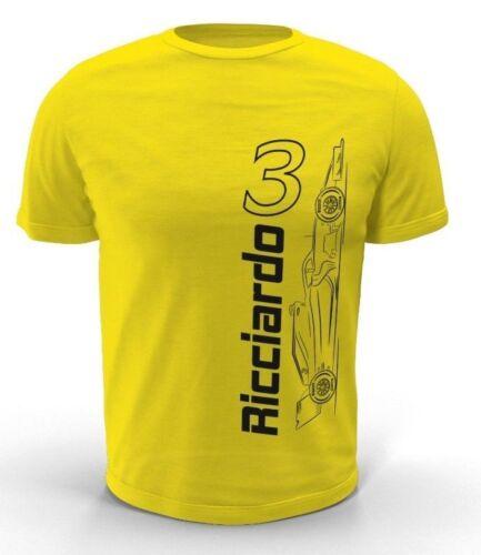 Daniel Ricciardo T-shirt RENAULT F1 2019 Enfants//Adulte