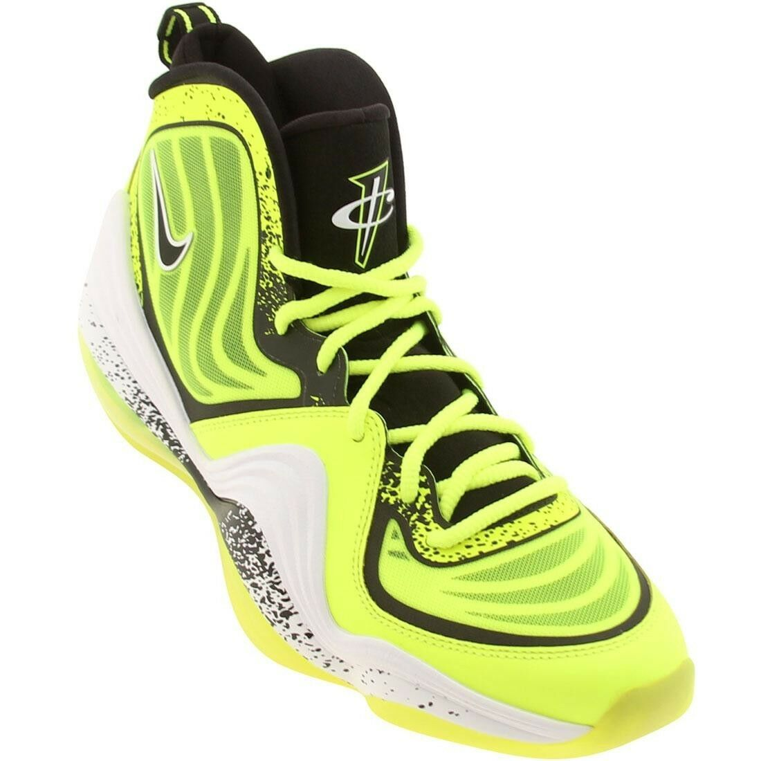 628568-701 Nike Men Air Penny V HL (volt / black / white)