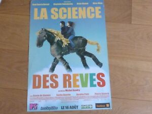 Charlotte-Gainsbourg-Science-Dei-Sogni-Rare-French-Plv-Cartone-Display