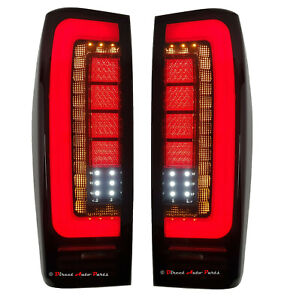 HIGH PERFORMAMCE TAIL LIGHT LAMP ( 3D LED) for ISUZU D-MAX DMAX 2012 - 2019 PAIR