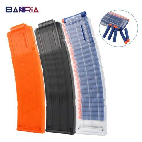 Cartridge Dart For Nerf Gun Clips Plastic Toys Clip Magazines Round Darts Bullet