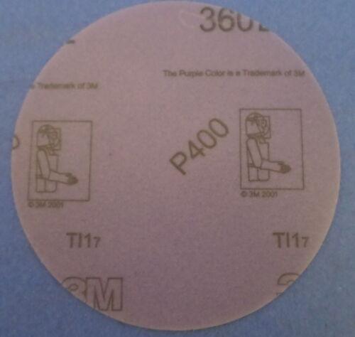 HOOK IT 127 mm 55719 3M FILM DISCS 360L BOX OF 100 NIB