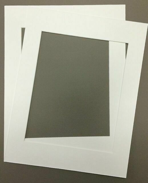Pack of 10 16x20 White Picture Mats with Core Bevel Cut Frame Mattes for 11x14 Pictures