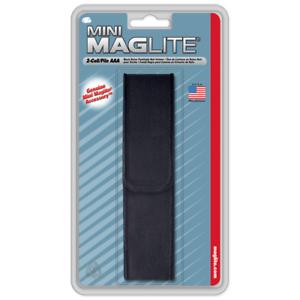 Discipliné Nouveau! Maglite Noir Nylon Full Flap Holster Pour Aaa Mini Am3a026-afficher Le Titre D'origine Avec Des MéThodes Traditionnelles