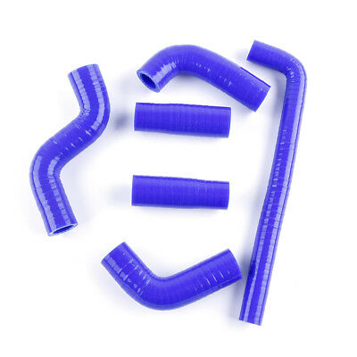 525 EXC 02-06 Silicone Radiator Water Coolant Hose Kit Blue For KTM 400 EXC