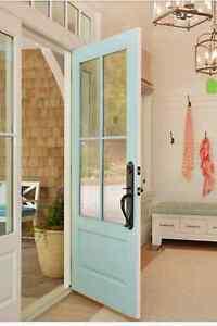 4 Lite Entry Door 36 Quot X 80 Quot Ebay
